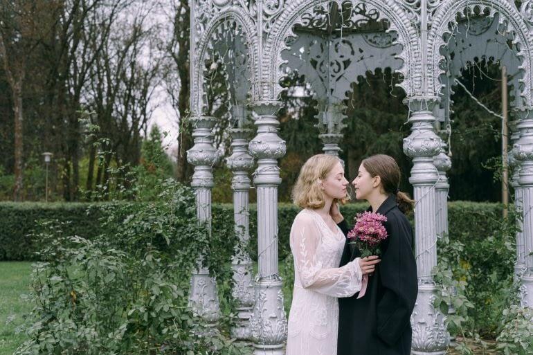Garden wedding ideas UK