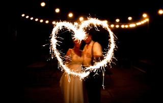 Heart Themed Wedding