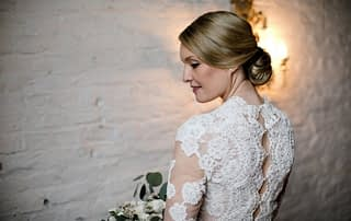wedding dress for the winter season